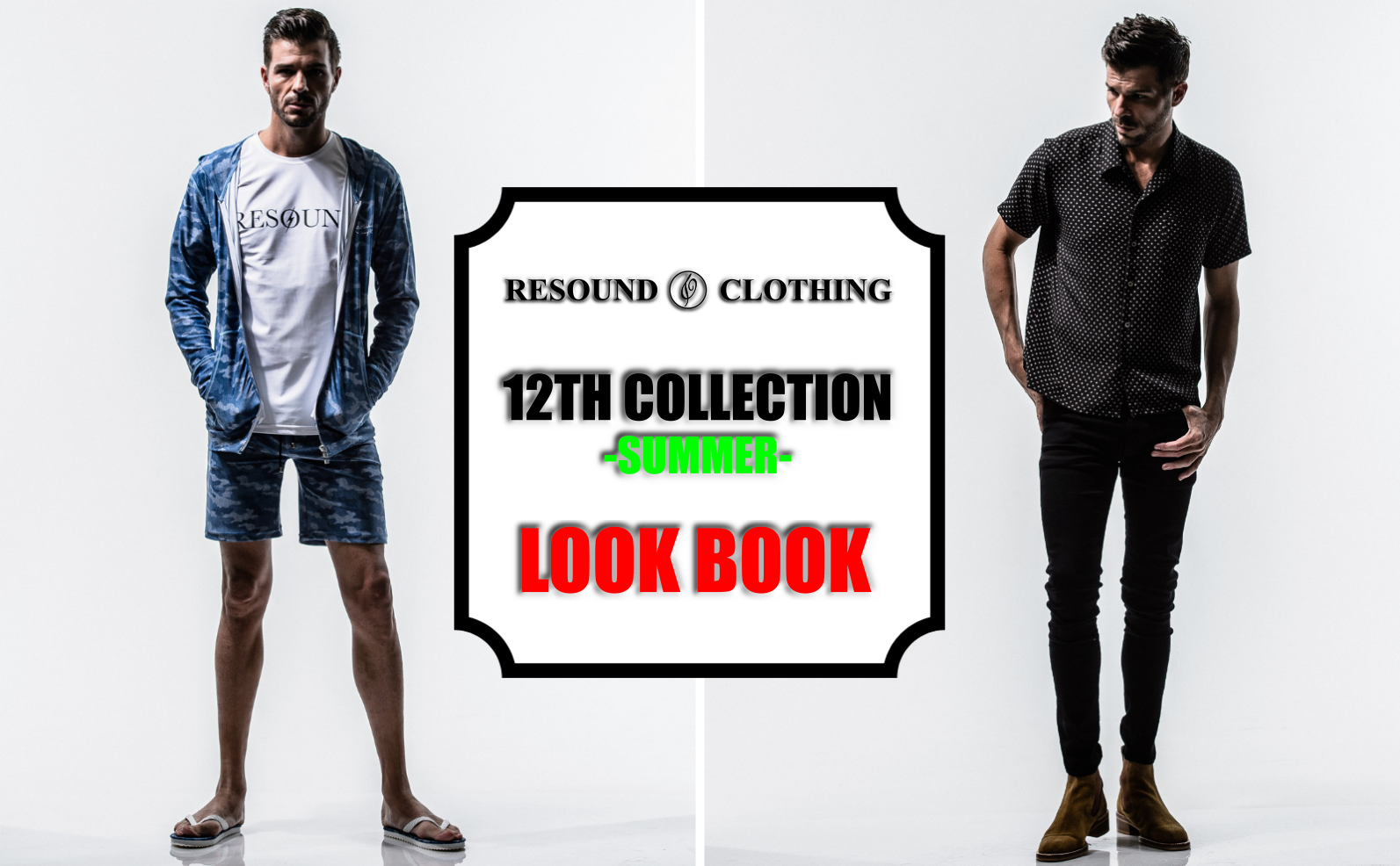 12TH COLLECTION 2019SUMMER LOOK BOOK
