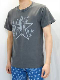 PIGMENT DYED JERSEY T-SHIRT #GIRL STAR / MST-S18SP01 / プリントTシャツ