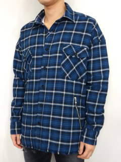 OVER FLANNEL CHECK SHIRTS / RC10-SH-001 / オーバーサイズチェックシャツ