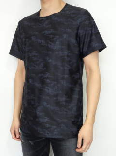 CAMOUFLAGE DENIM RUSH TEE / RC12-T-013 / ラッシュガードTシャツ