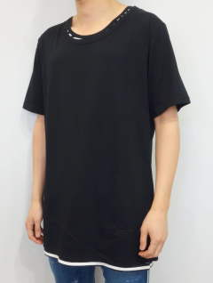 LOOSE LAYERED TEE / RC11-T-005 / レイヤードビッグTシャツ